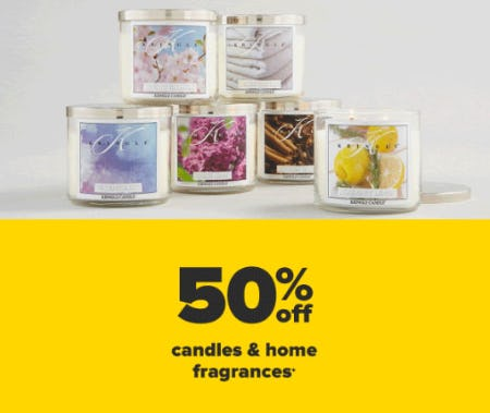 50% Off Candles & Home Fragrance from Belk