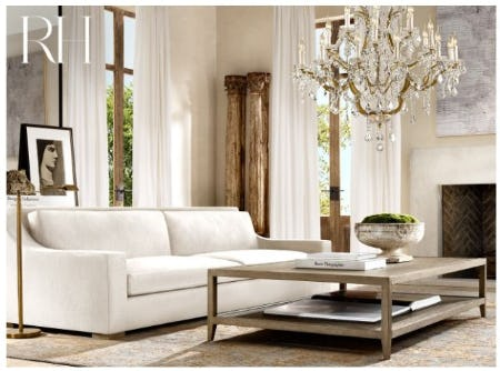 Refined French Form: The French Contemporary Collection from Restoration Hardware