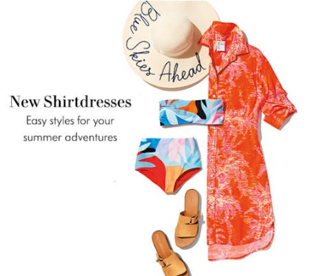 Our New Shirtdresses from Neiman Marcus