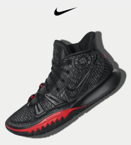 Just In: Kyrie 7 'Bred' from Nike