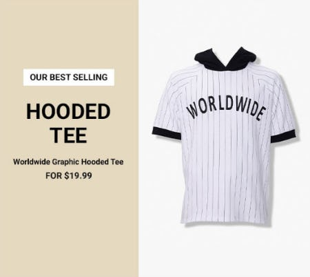 Worldwide Graphic Tee for $19.99 from Forever 21