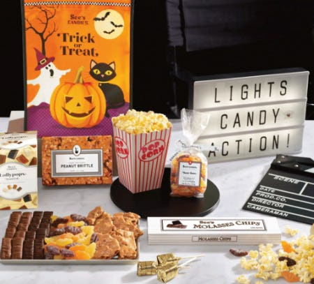 Spooktacular Movie Night Bundle from See's Candies