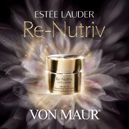 Estee Lauder Re-Nutriv Spa Event from Von Maur