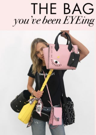 Rivington Mini Novelty Tote from Henri Bendel