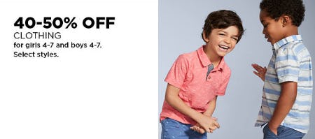 40-50% Off Clothing from Kohl's