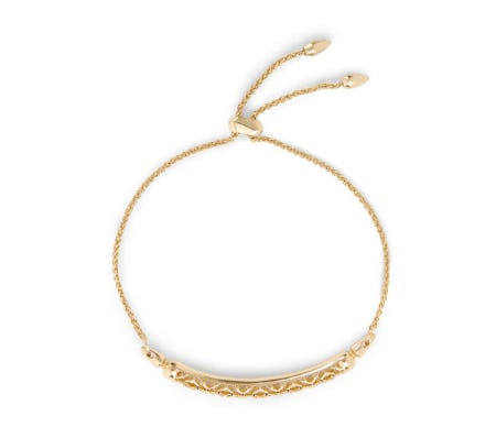 Gilly Gold Link Bracelet In Gold Filigree from Kendra Scott