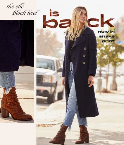 The Elle Block Heel Is Back from Free People