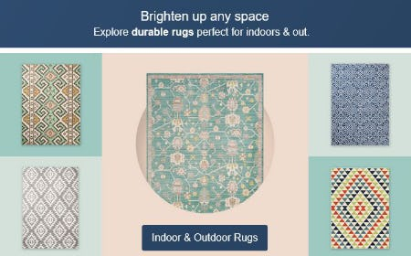 Unroll a New Summery Rug from Target