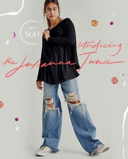 Introducing: The Julianna Tunic from Free People