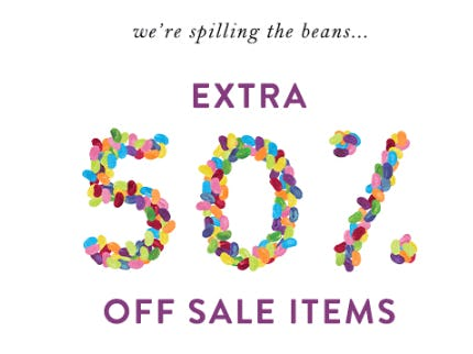 Extra 50% Off Sale Items from Anthropologie