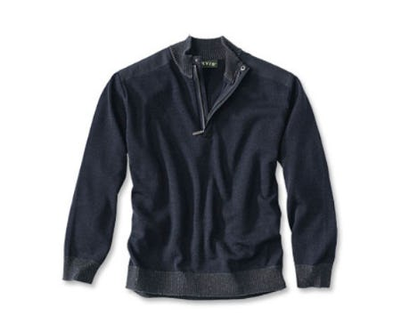 Guide Merino Quarter-Zip Sweater from Orvis