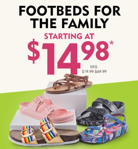 Footbeds for the Family Starting at $14.98 from Shoe Carnival