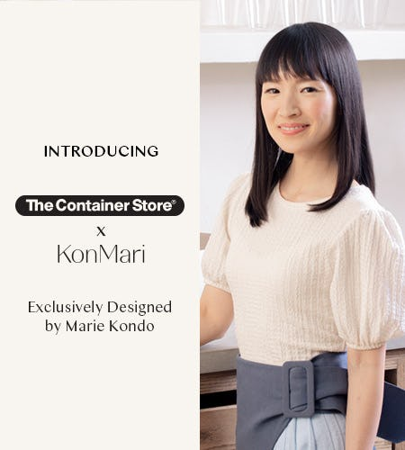 Marie Kondo Collection Now at The Container Store