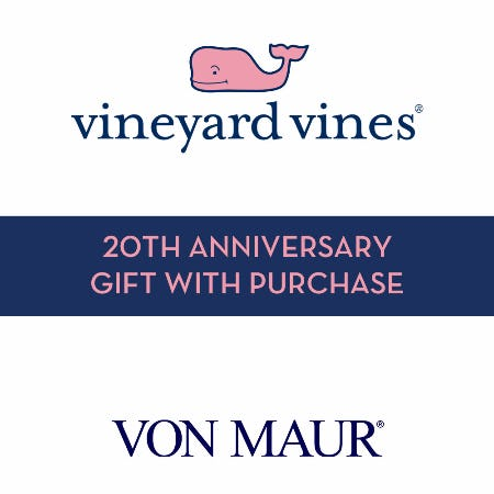 vineyard vines 20th Anniversary Gift With Purchase from Von Maur