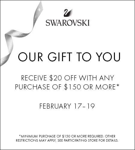 Our Gift to You from Swarovski