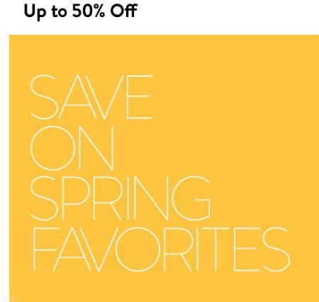Up to 50% Off Spring Favorites from Nordstrom