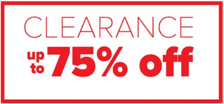 Up to 75% Off Clearance from Belk Store