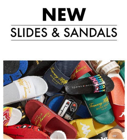 New Slides & Sandals from EbLens Clothing and Footwear