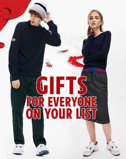 Gift‌ Ideas‌ for‌ Men,‌ Women‌ &‌ Kids ‌ ‌ ‌ ‌ ‌ from Lacoste