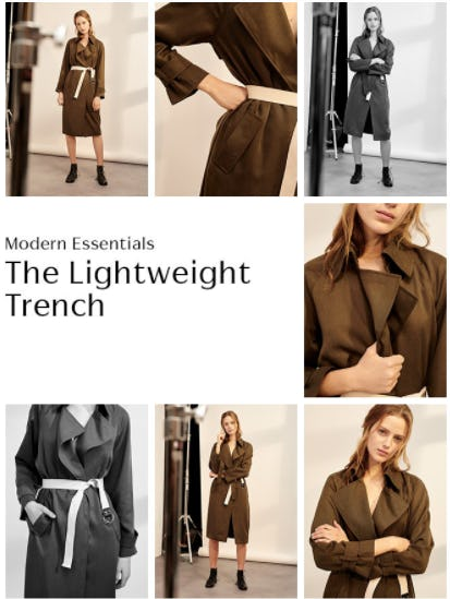 Explore Our Trench Coats
