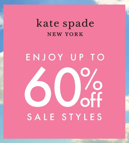 Shop the Big Sale! from kate spade new york