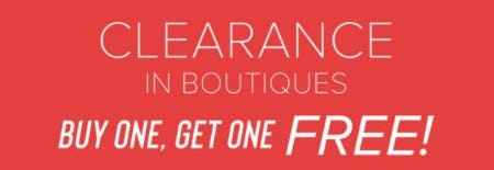 BOGO Free Clearance from francesca's