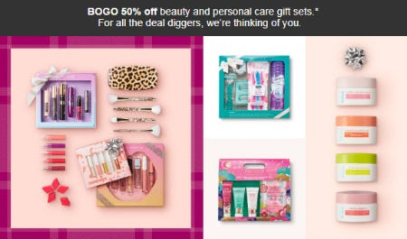 BOGO 50% Off Beauty & Personal Care Gift Sets from Target