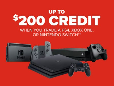 Up to $200 Credit