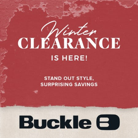 Winter clearance is here