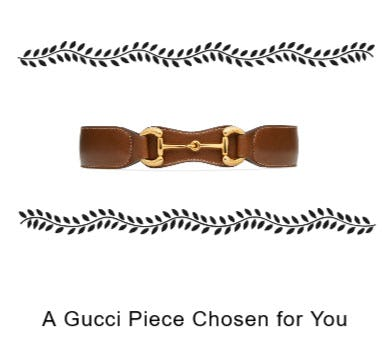A New Gucci Piece for Your New Look from Gucci