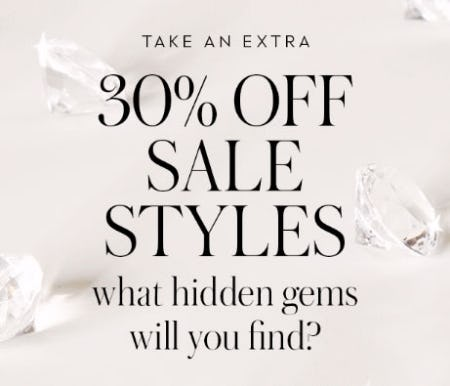 Extra 30% Off Sale from kate spade new york