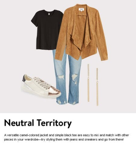 Neutral Territory from Nordstrom