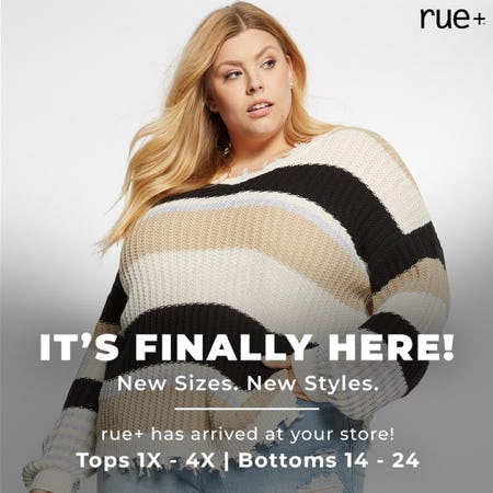 Plus Sizes Are Here! from rue21
