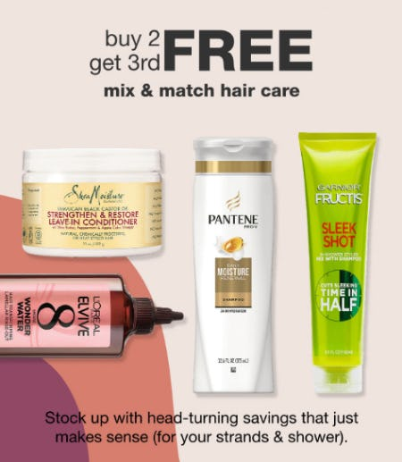 B2G3 Free Mix & Match Hair Care