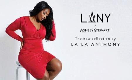 La La Anthony X Ashley Stewart from Ashley Stewart