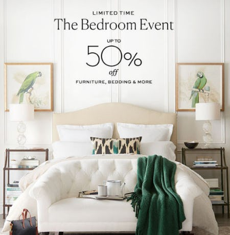 Up To 50 Off The Bedroom Event
