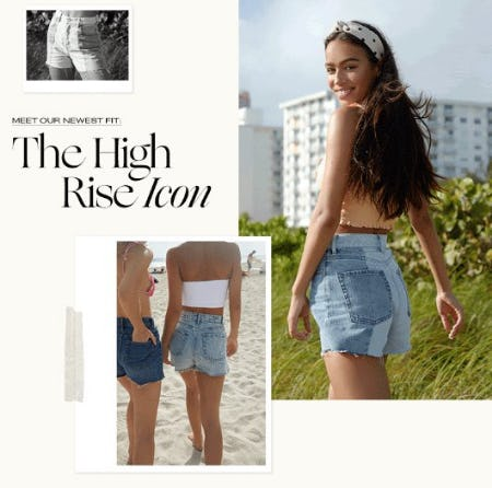 Meet our Newest Fit: The High Rise Icon