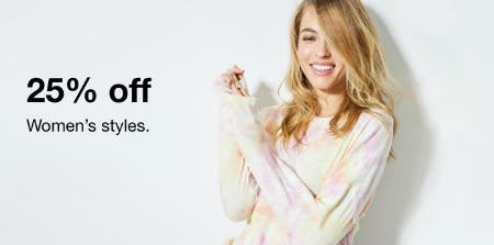 25% Off Women's Styles from macy's