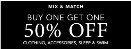 Buy One, Get One 50% Off from Lane Bryant