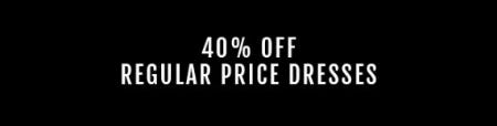 40% Off Regular Price Dresses from Torrid