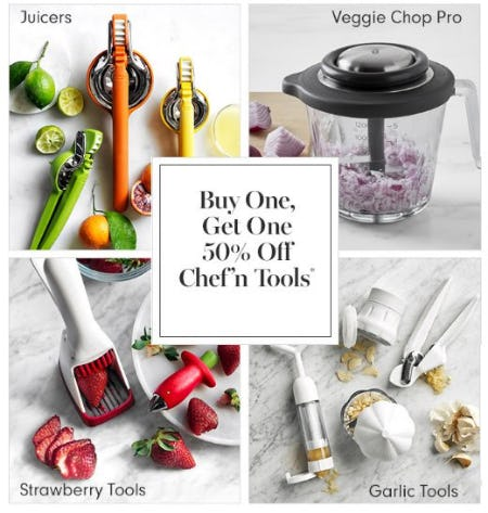 Buy One, Get One 50% Off Chef'n Tools from Williams-Sonoma