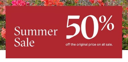 Summer Sale 50% Off from ALDO Shoes
