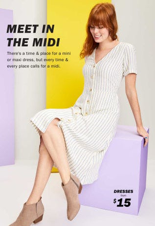 Meet in the Midi from Old Navy