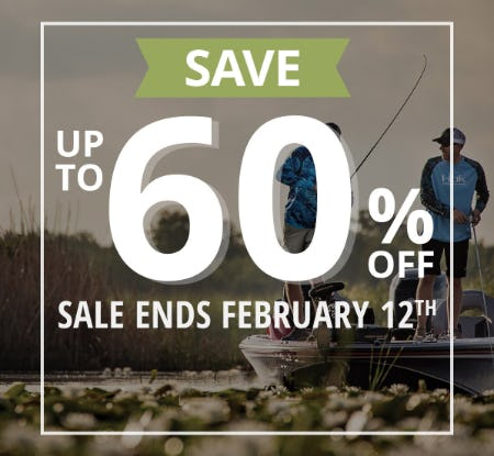Save Up to 60% Off During The Spring Fever Sale from Cabela's
