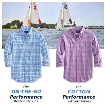 The Best Performance Button Downs from vineyard vines