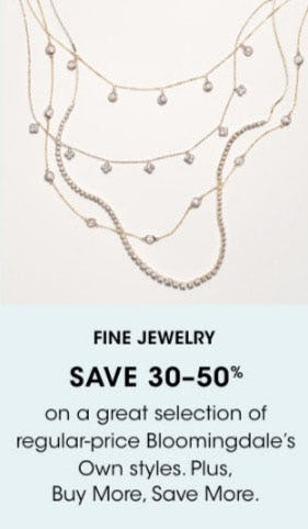 Fine Jewelry Save 30-50% from Bloomingdale's