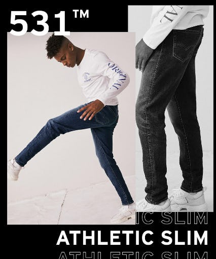 Introducing The 531™ Athletic Slim from The Levi's Store