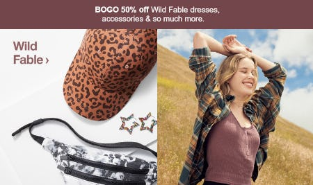 BOGO 50% Off Wild Fable Dresses from Target