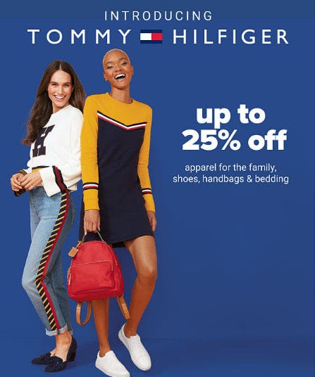 Up to 25% Off Tommy Hilfiger Apparel & More from Belk