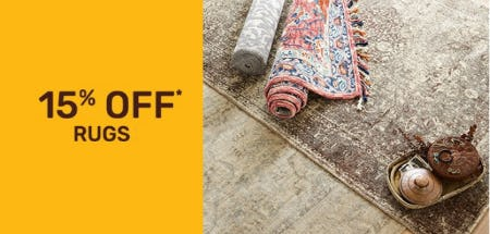 15% Off Rugs from Pier 1 Imports